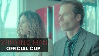 """Spinning Man (2018 Movie) Official Clip """"Coincidence"""" – Pierce Brosnan, Guy Pearce, Minnie Driver"""