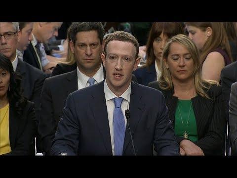 'I'm sorry', Mark Zuckerberg tells US Congress over Facebook data breach | ITV News