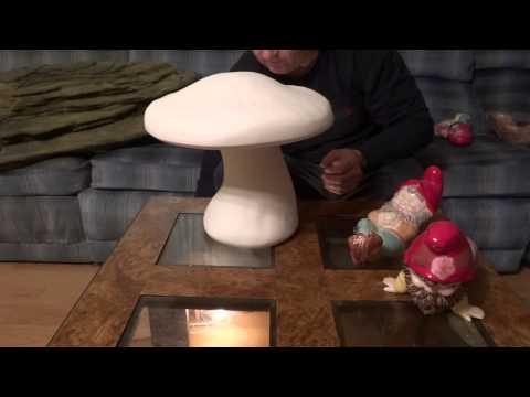 Beautiful Fairy Mushroom Garden Light