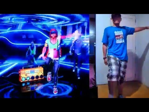 Dance Central 2 - The Way I Are (Gangnam Style Freestyle) Gold Stars 100% Gameplay