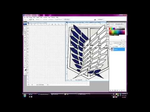 Photoshop-How to make warframe emblems backgroundless