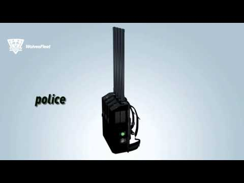 High Power 4Bands UAV Drone IED EOD Manpack Packback Bomb Jammer WF-VIP JAM4