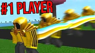 BECOMING THE TOP PLAYER! *FASTEST* (Roblox Speed Unlimited)