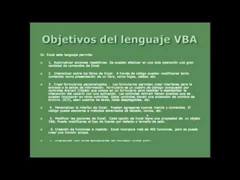 VBA Excel 2007   Introducción Básica   Video 1