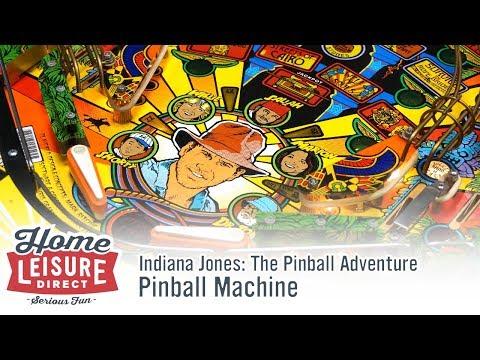 Indiana Jones: The Pinball Adventure Pinball Machine (Williams 1993)