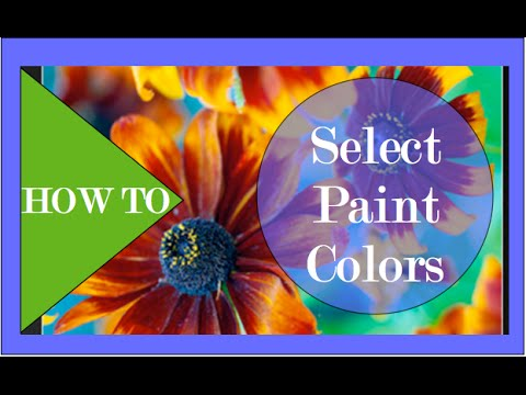 How To Select the Perfect Paint Color