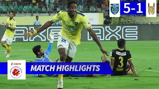 Kerala Blasters FC 5-1 Hyderabad FC - Match 52 Highlights | Hero ISL 2019-20