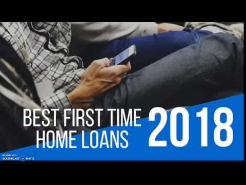 Best Mortgage loan for first time home buyers