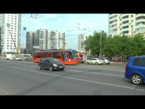 TRAMS AND TROLLEYS IN MOSCOW MAY 2018