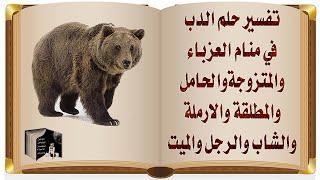 تفسير حلم الدب متى يدل على القوة ومتى يدل على الحسد والحقد