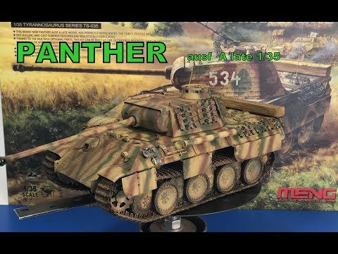 Building the Meng 1/35 Panther AUSF  A late with zimmerit
