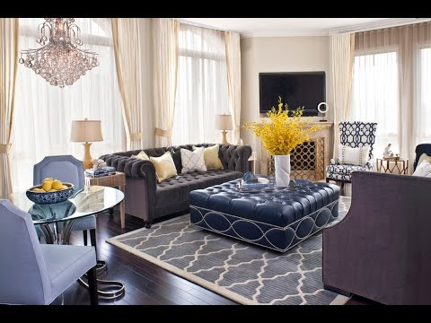 49 Living Room Chairs and Ottomans