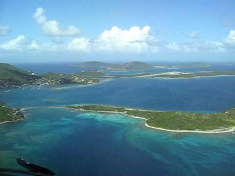 Gulfstream GIV Landing at BVI Beef Island