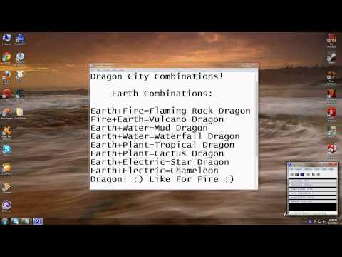 Dragon City Combinations!