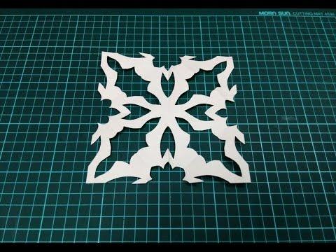 DIY Kirigami / Paper Cutting Craft Ideas, Designs, Patterns & Templates - 4.