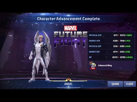 Marvel Future Fight Part 88 - Angel To Tier 2 (Bring On That Archangel Costume PLS!)