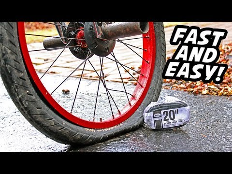 How to: Change a Inner Tube on a Bicycle