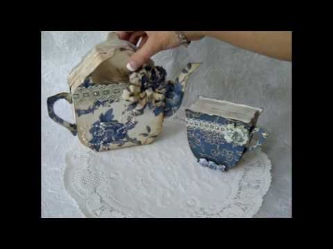 My Vintage Tea Pot & Cup