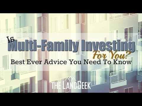 Is Multi-Family Investing For You? Best Ever Advice You Need To Know