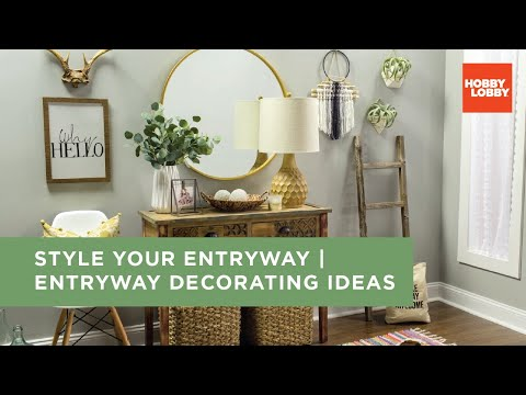 Style Your Entryway