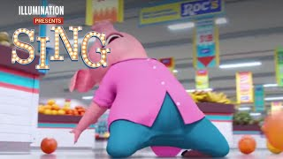 Sing - In Theaters December 21 (Laurie Hernandez Supermarket Dance) (HD)