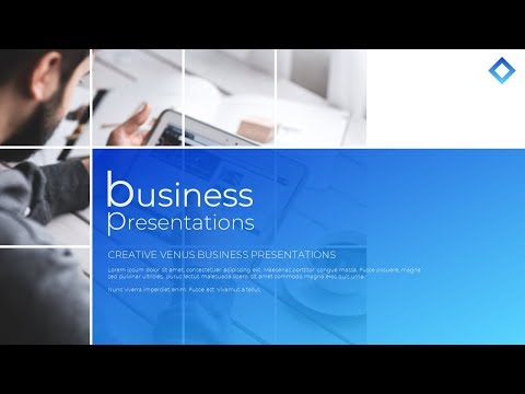 How To Design Professional Title Slide for Business Presentation in Microsoft Office PowerPoint PPT