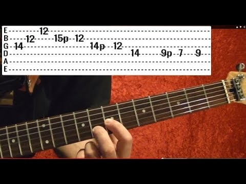 One Intro Solo by METALLICA - Guitar Lesson - Kirk Hammett