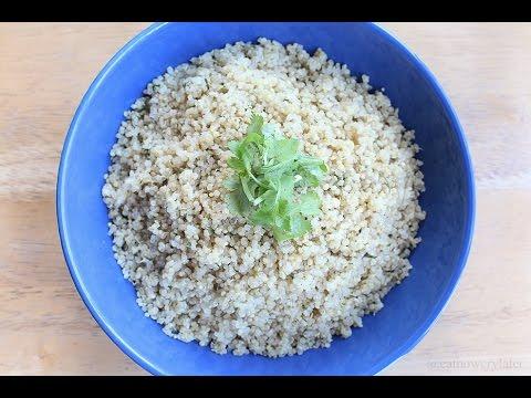 HEALTHY EATS 5: Fluffy Lemon Quinoa