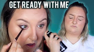 GET READY WITH ME TO GO OUT WITH MY HUSBAND