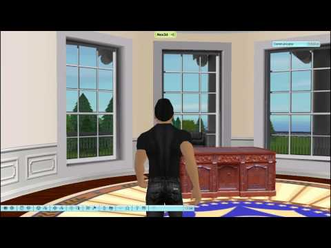 White House 3D Tour (There.com)