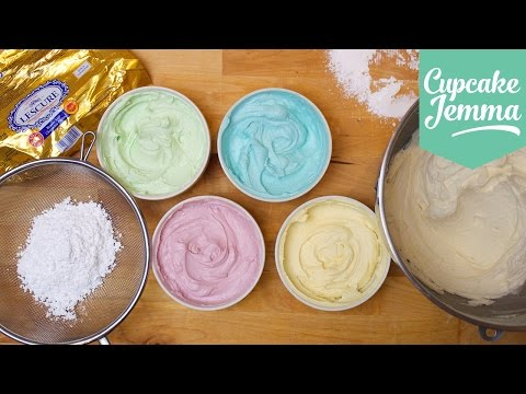 Buttercream Masterclass: How to make Perfect Buttercream Icing | Cupcake Jemma