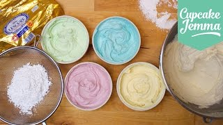 Buttercream Masterclass: How to make Perfect Buttercream Icing | Cupcake Jemma