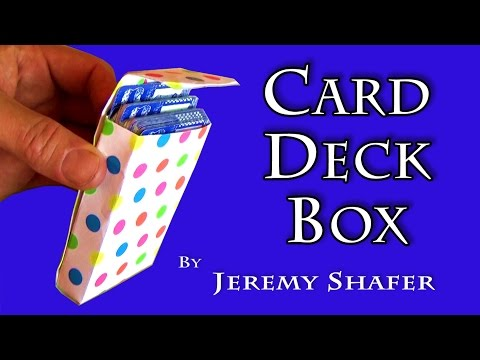 Card Deck Box