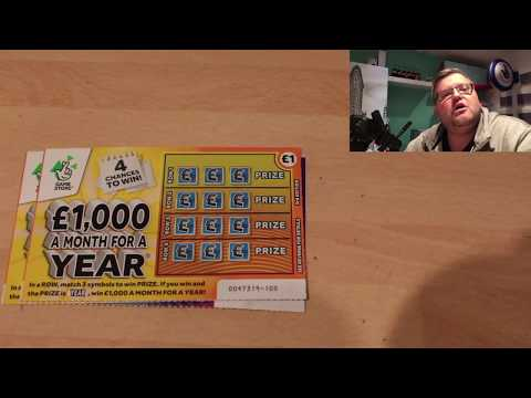 Scratchcard carry on Wednesday