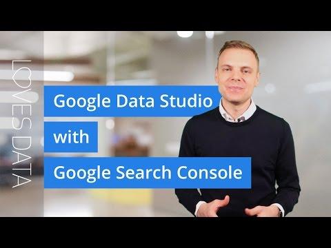 Tutorial // Google Data Studio with Google Search Console