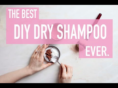 Easiest DIY Dry Shampoo Recipe that Actually WORKS (and some hair care tips!)