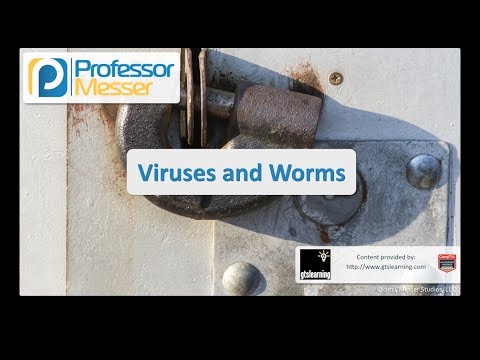 Viruses and Worms - CompTIA Security+ SY0-401: 3.1