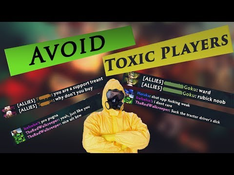 How to avoid cancer players Dota 2 and find out what your behavior score is
