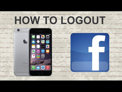 How to logout on Facebook mobile app