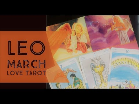 LEO MARCH  2018 | ~CAN'T RUN, CAN'T HIDE -PAST LIFE LOVE~ | LOVE TAROT READING