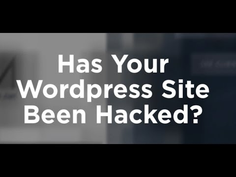 Wordpress Hacked 2017 - What To Do To Fix
