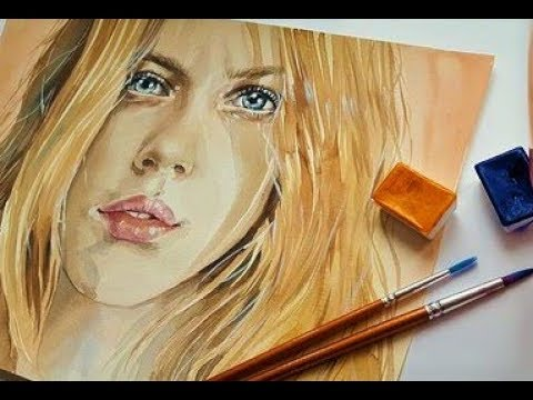 How to mix SKIN FLESH tones with Acrylic or oil Paint, step by step,The perfect recipe, must see!