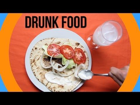 The Most Popular Drunk Foods Around