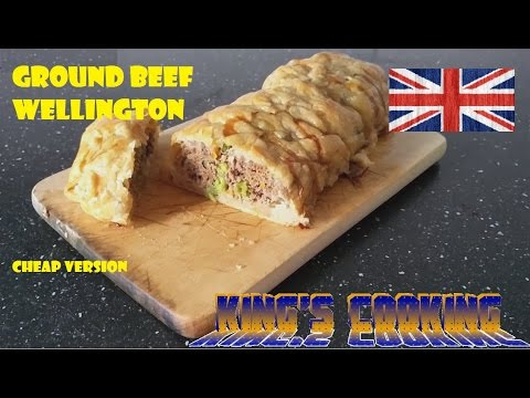 Ground Beef Wellington (cheap version)