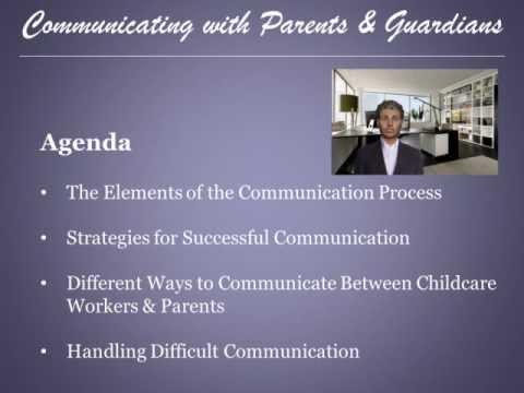 Parent Communication - Section 1