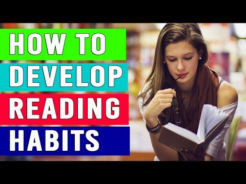 How to develop Reading Habits