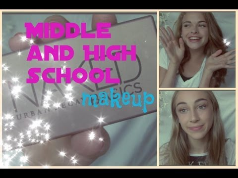 back to school series #4: Middle+High School makeup!