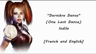 Dernière Danse (One Last Dance) French & English Lyrics Video [Requested]