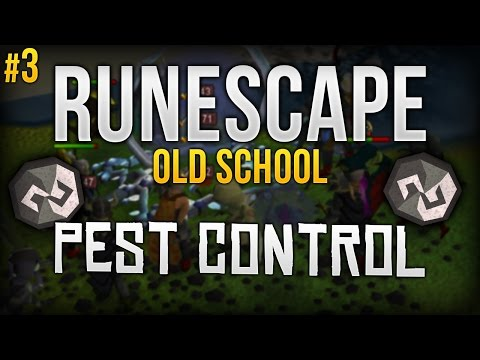 (#3) RuneScape 07   Pest Control   The struggle of getting full Void.