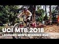 Who wonthe men's downhill MTB final at Leogang, Austria? | UCI MTB 2018
